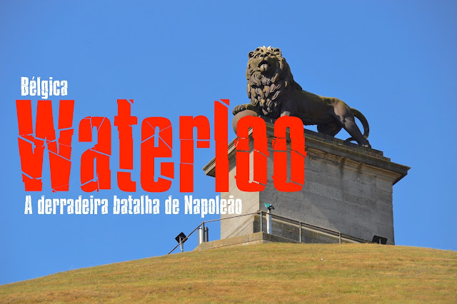 Waterloo Bélgica o que visitar