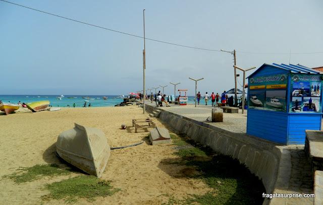 Píer de Santa Maria, Ilha do Sal, Cabo Verde