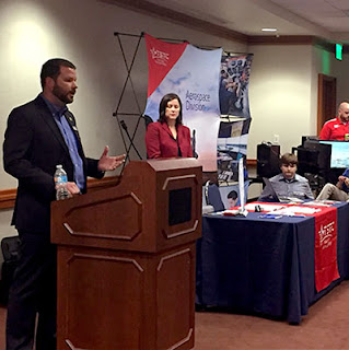 Garver, STEM students meet at Texas State Capitol