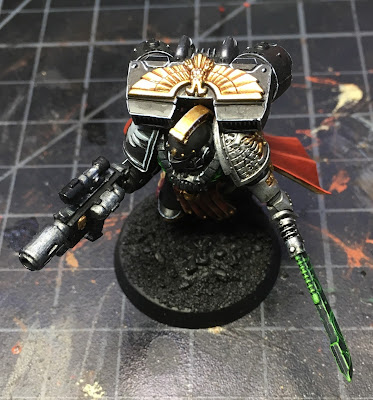 Deathwatch Watch Captain with Jump Pack WIP Top