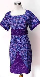 Dress Batik Guru Wanita Muslim