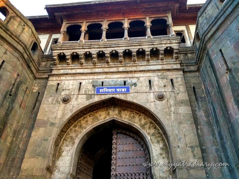 Dilli Darwaza - Main Gate at Shaniwar wada fort, Pune