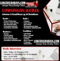 Walk In Interview di Juragan Sambel Surabaya Terbaru Oktober 2019