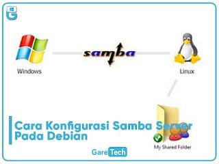 Cara Konfigurasi Samba Server Pada Debian 7