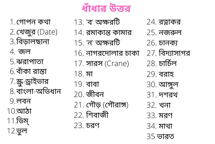 Bangla DhaDa Uttar