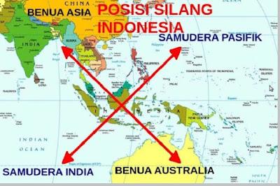 kelebihan letak geografis indonesia