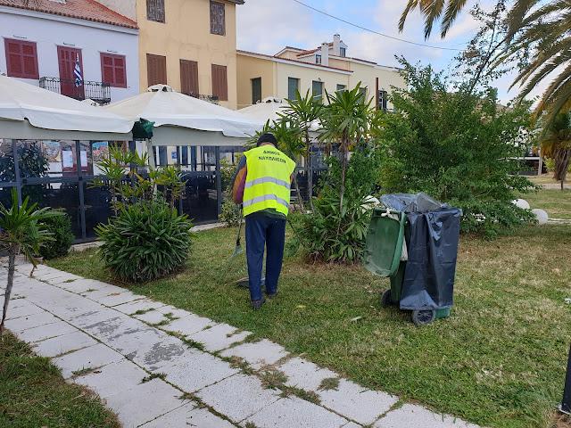 Δεν κάνει lockdown ο τομέας καθαριότητας στο Ναύπλιο