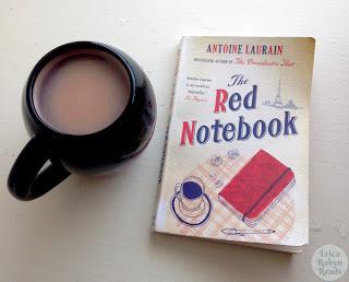The Red Notebook by Antoine Laurain book photo