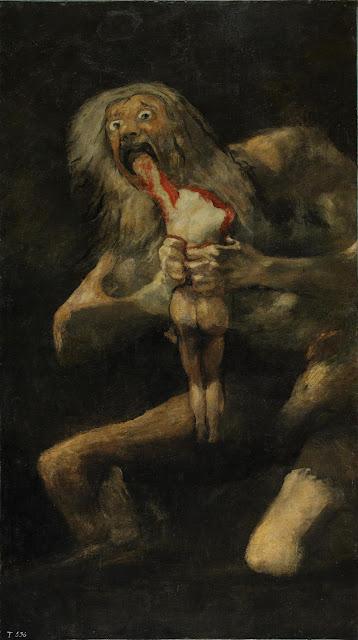 Φρανθίσκο Γκόγια - Ο Κρόνος καταβροχθίζει το παιδί του