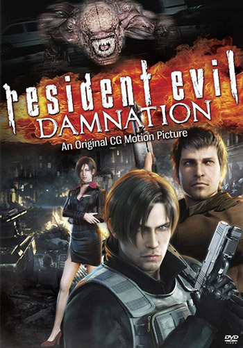Resident Evil Damnation 2012 Dual