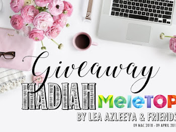 Giveaway Hadiah Meletop By Lea Azleeya & Friends
