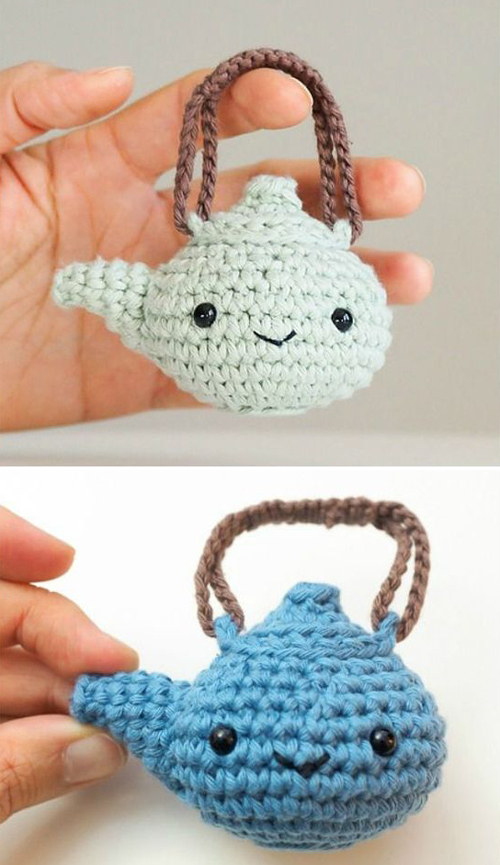 Amigurumi Teapot - Free Crochet Pattern