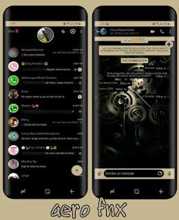 Engine Black Theme For YOWhatsApp & Fouad WhatsApp By Ave fénix