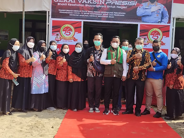 Bupati Pelalawan Bersama Kapolda Riau Tinjau Posko PPKM