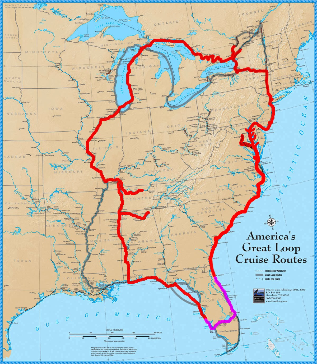illinois road map with What Is This Great Loop on 33119b4 likewise Maps besides Attraction Review G36449 D2332328 Reviews King Spa Sauna Niles Illinois also Cartoons Donald Trumps Foreign Policy as well What Is This Great Loop.