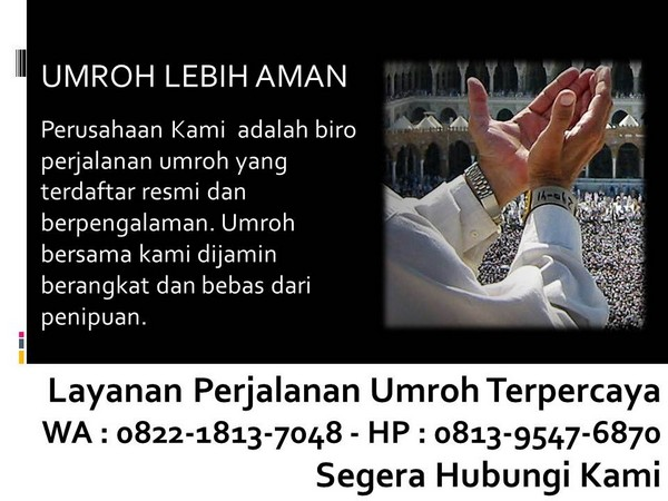 travel umroh recommended bandung