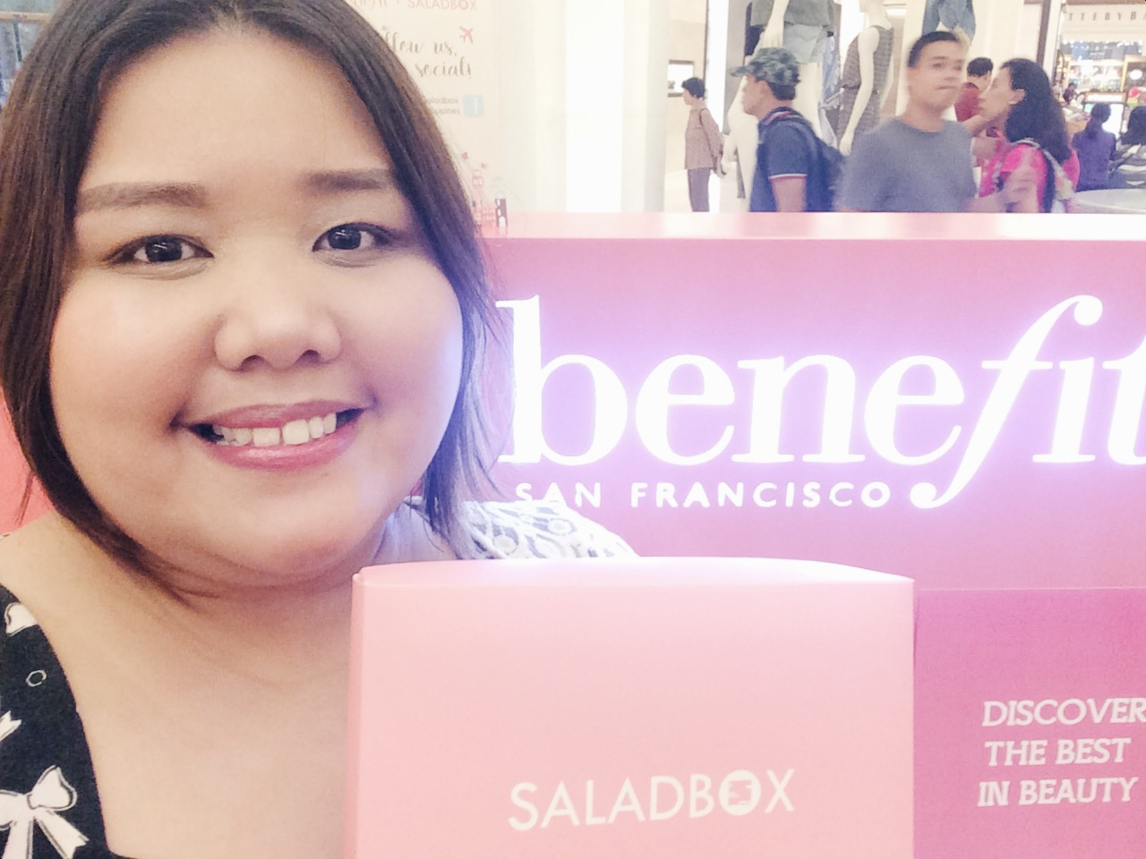 #BenefitxSaladbox Beauty Soirée