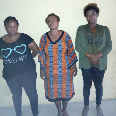 Female Child Traffickers Who Buy/Sell Children Nabbed In Lagos