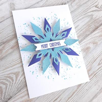 Uniko Sparkling Snowflake