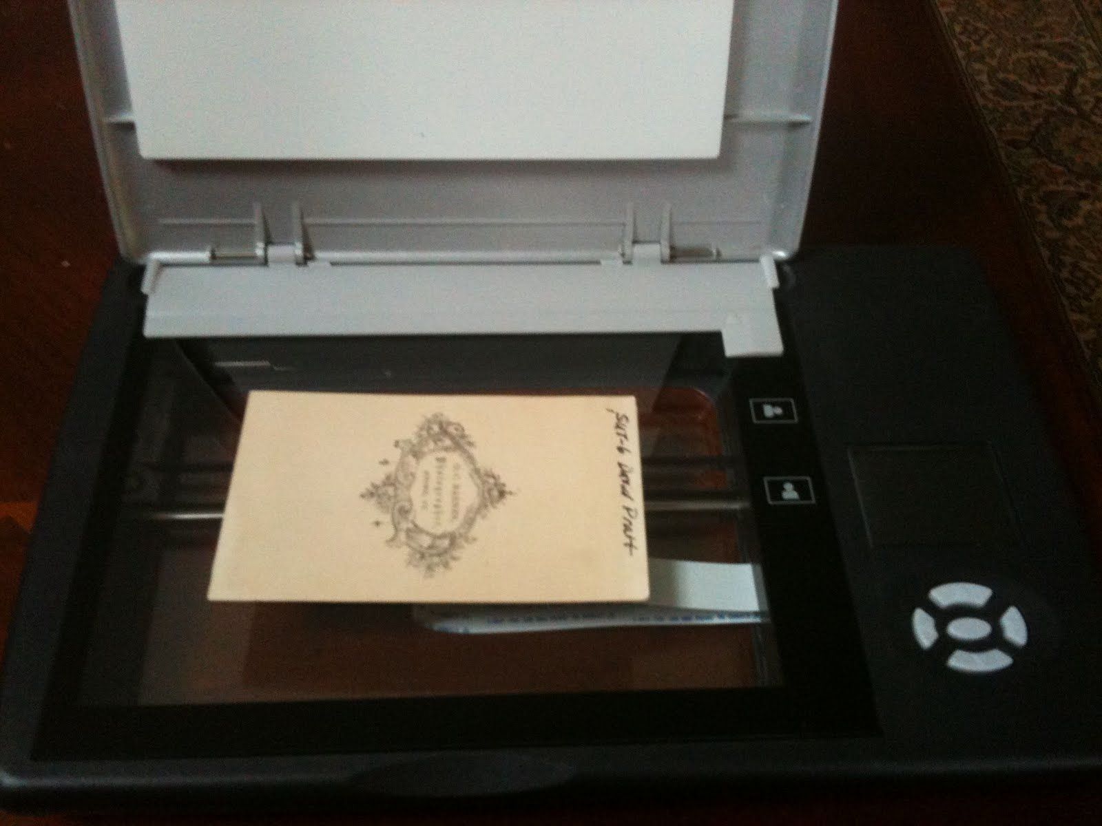 Christmas Present Scanner.Olive Tree Genealogy Blog 5 Steps To A Quick Easy