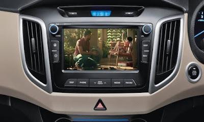 Hyundai Creta 1st Anniversary Edition audio system Hd Images