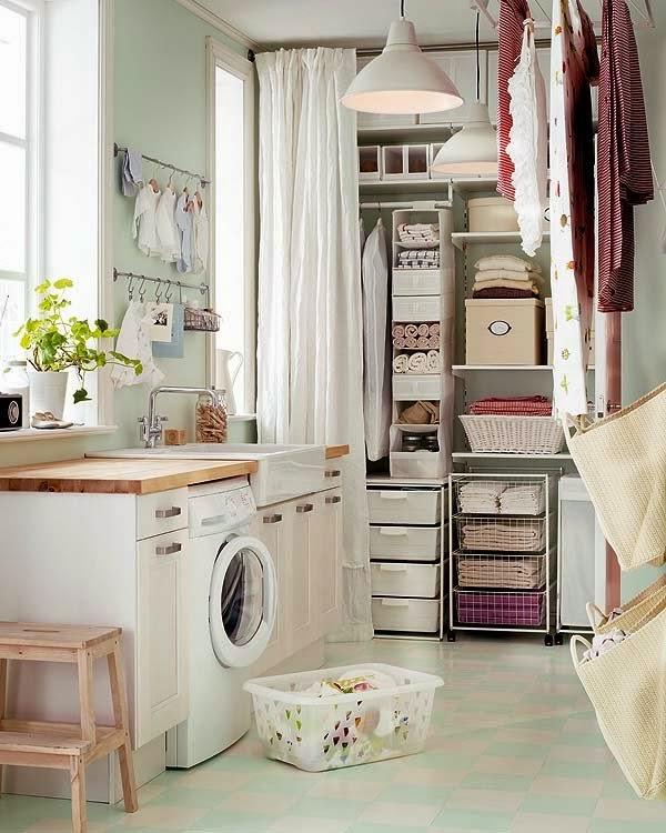 Integrar la zona de lavadero en la cocina decoraci n for Lavaderos practicos