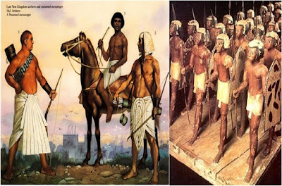 Ancient Egyptian Soldiers
