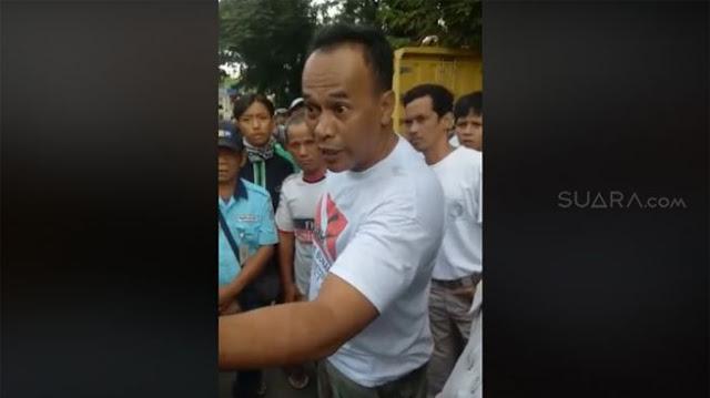 Ya Ampun Jangan Dicontoh! Ternyata Anggota DPRD Yang Ngamuk-ngamuk Lantaran Mobilnya Diderek Politisi Gerindra, Owh Begitu....