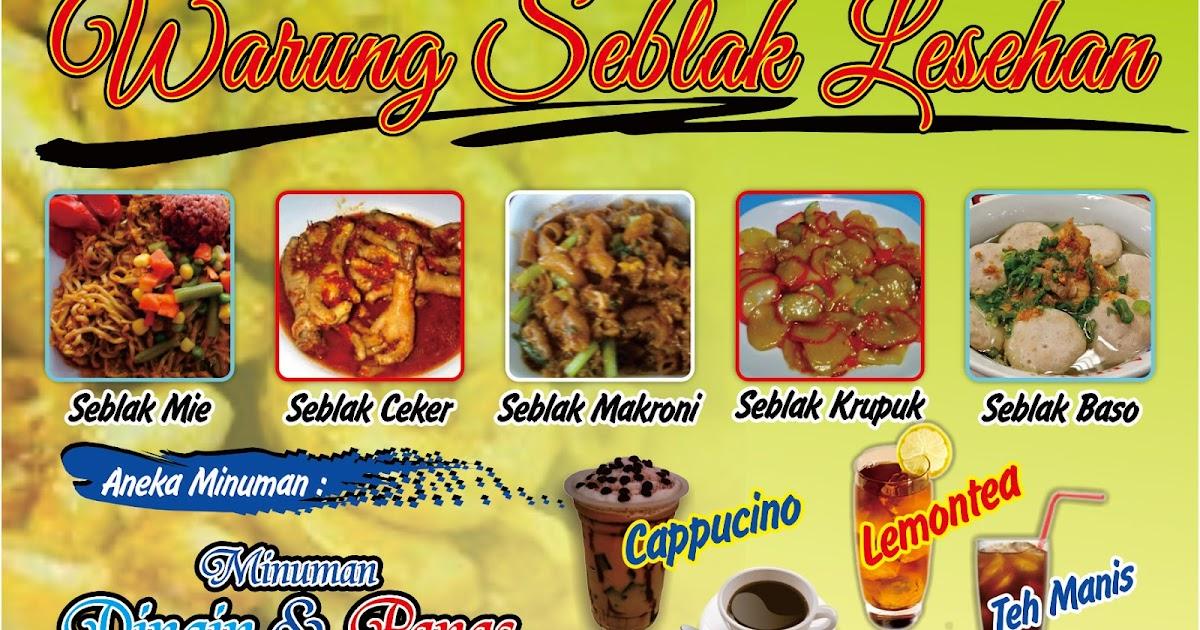 Alfi Percetakan Dan Digital Printing Baliho Warung Seblak Lesehan