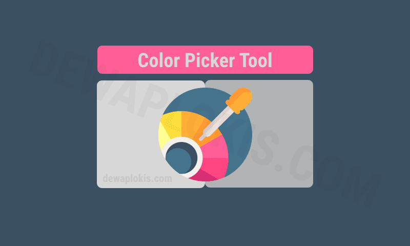 Cara Membuat Color Picker Tool di Halaman Statis Blog
