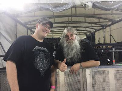 Big Mick Metallica Detroit Hardwired Tour