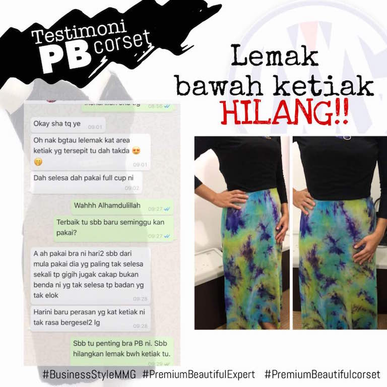 testimoni premium beautiful kurus