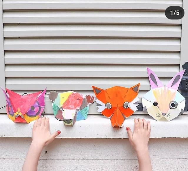 masque 3D enfant