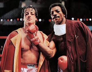 Combate de Rocky y Apollo Creed