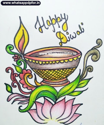 diwali drawing pictures