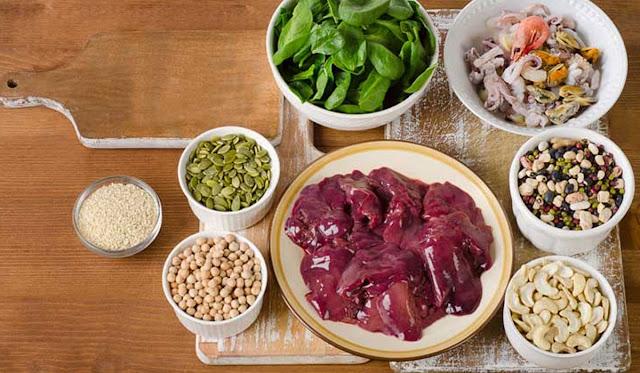الحديد  :ما هي مصادره الغذائية؟