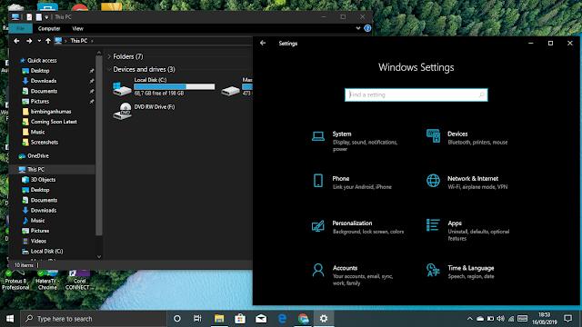 Cara Mengaktifkan Dark Mode di Windows 10 Update Terbaru MUDAH!!!
