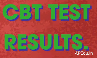 CBT TEST RESULTS