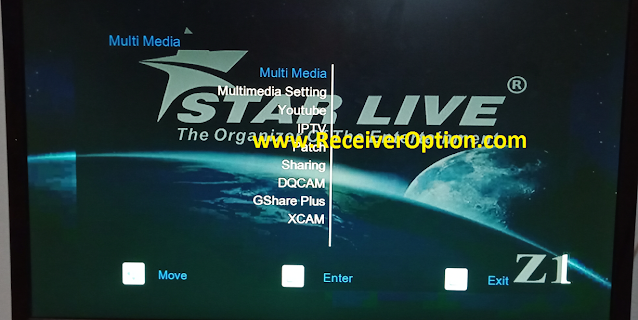 STAR LIVE Z1 1506T 512 4M NEW SOFTWARE WITH XCAM & G SHARE PLUS OPTION