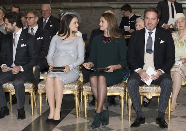 Princess Madeleine, Christopher O'Neill, Prince Daniel, Princess Estelle, Prince Carl Philip and Princess Sofia