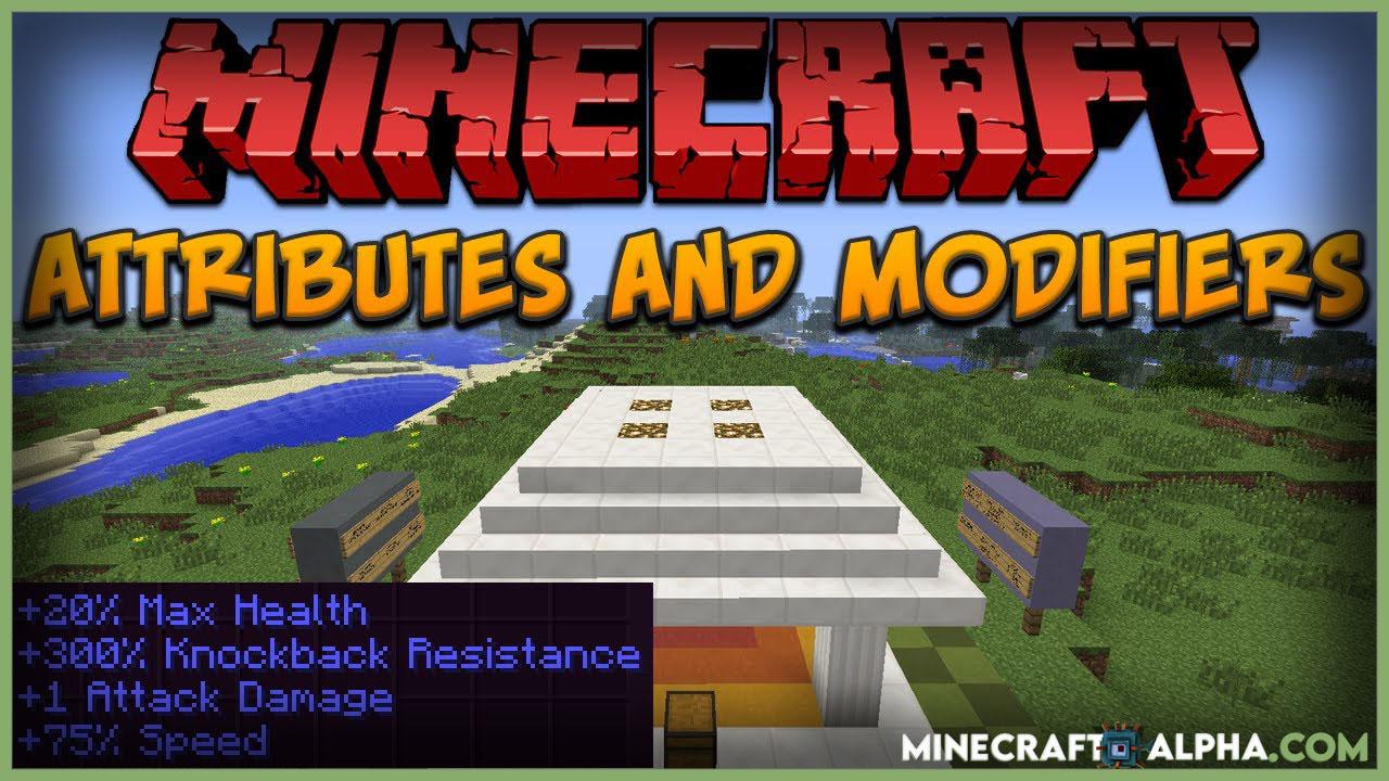 Minecraft AttributeFix Mod 1.17.1 (Attribute Fixer)