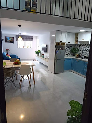 2 phòng ngủ, bếp,phòng khách, wc