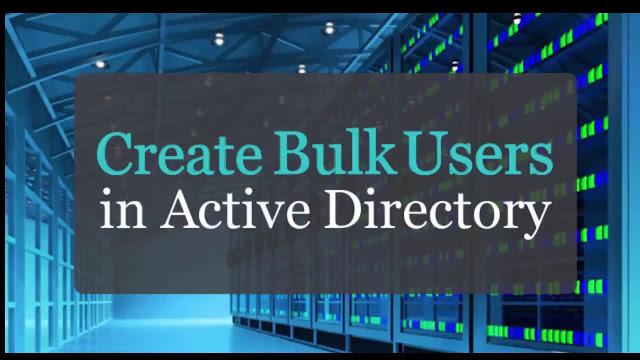 اتمتة إنشاء مستخدمين في Active Directory (الدليل خطوة بخطوة)