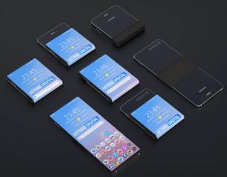 أفادت وكالة الأنباء بلومبرغ بأن شركة سامسونغ تخطط لإطلاق هاتف قابل للطي يتم طيه بطريقة عمودية عكس الهواتف الأخرى التي يتم طيها بشكل أفقي كالهاتف جالكسي فولد والهاتف ميت إكس.