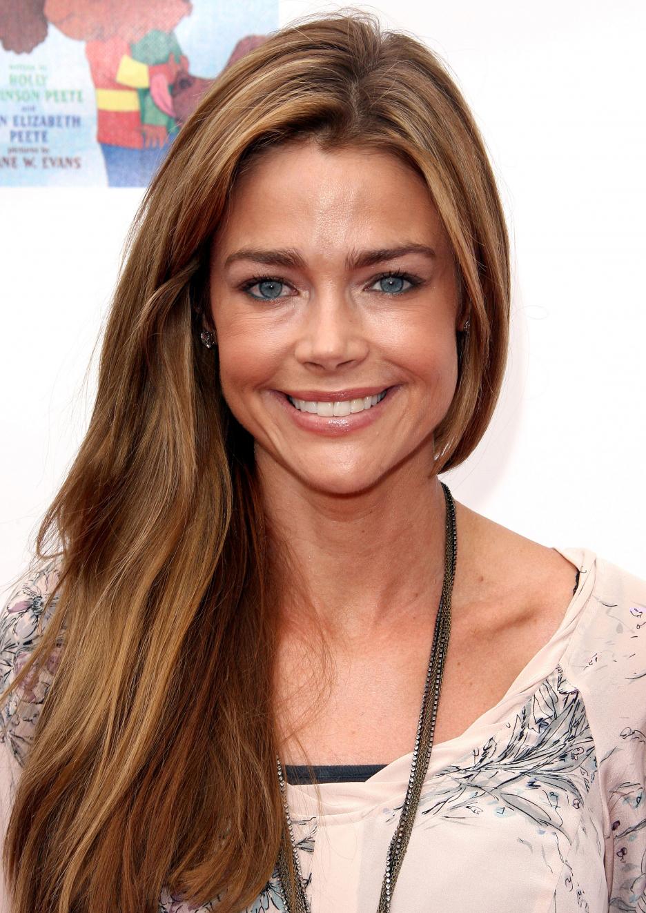 Denise Richards Long Hair Color Celebrity Hair Cuts