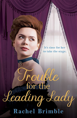 Trouble for the Leading Lady by Rachel Brimble book cover