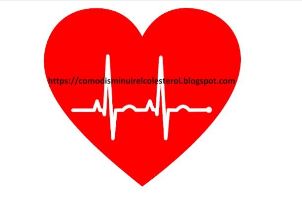 Dibujo de Corazon Rojo con linea de Electrocardiograma
