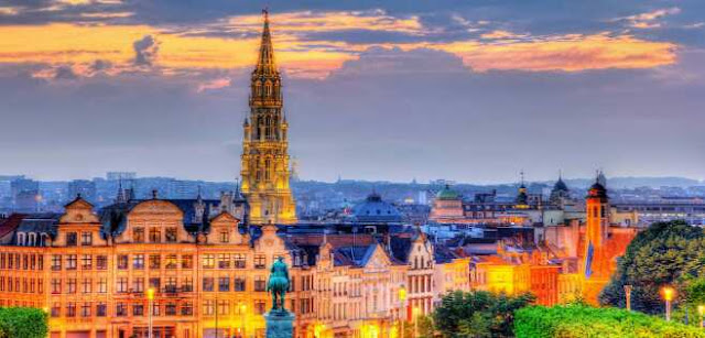 What is the capital city of Belgium?