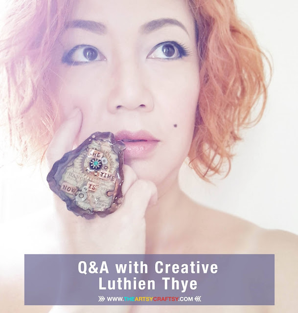 Q&A with Creative Mixed Media Artist Luthien Thye