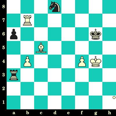 Les Blancs jouent et matent en 2 coups - Vassily Ivanchuk vs Bozidar Ivanovic, New York, 1988